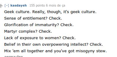 """""""La culture geek."""